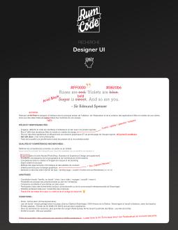 Designer UI